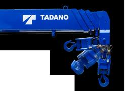 STRONG PENTAGONAL BOOM HOOK IN (Hook In model only) TADANO's traditional strong