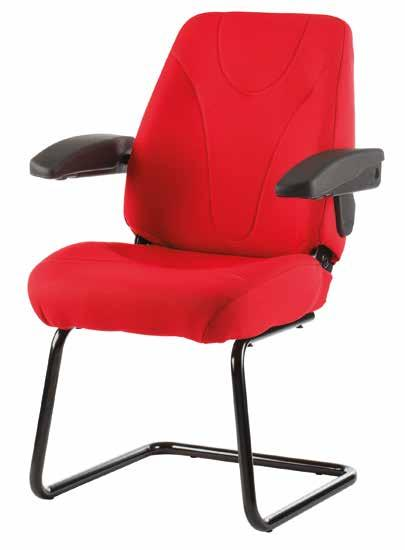 A quality medium sized orthapaedic chair for VDU operators, general
