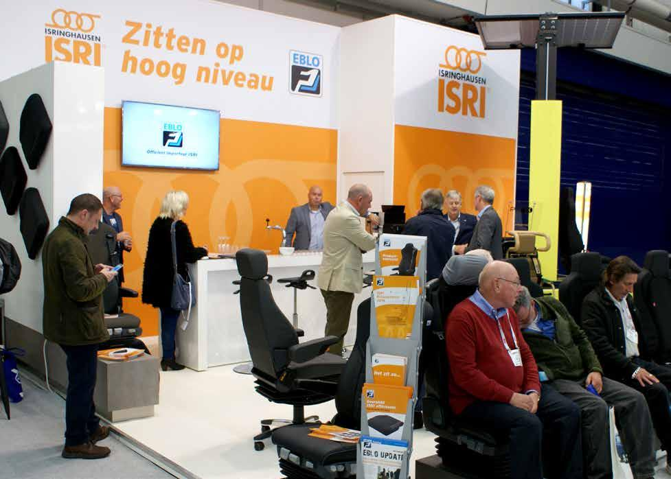 It was the first time that we have attended as the Official distributor for the BENELUX and UK for the ISRI brand of seats for trucks and buses and we were most pleased with the response and feedback