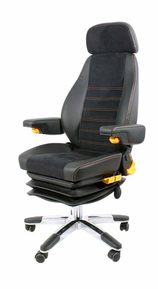 Create your own chair With a range of options such as lumbar support, back angle adjustment, seat tilt and