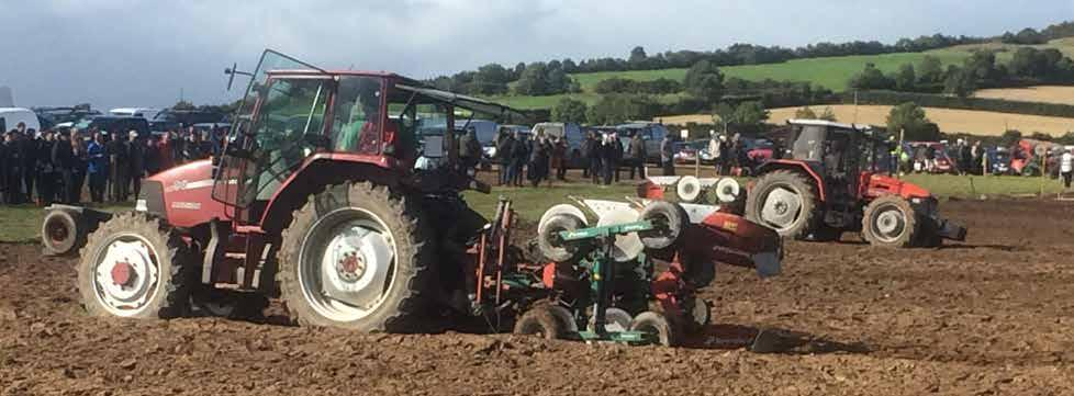 ANOTHER BLOCKBUSTER EVENT AT THE IRISH PLOUGHING MATCH HELD IN STRADBALLY The 84th annual Irish Ploughing Championship held for the second year running in Ratheniska near Stradbally, Eire again lived