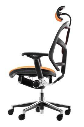 single lever control to provide personalised comfort, the Enjoy chair is beautifully designed for enduring comfort.
