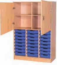 Classroom Storage Mobile Tray Units From 129.