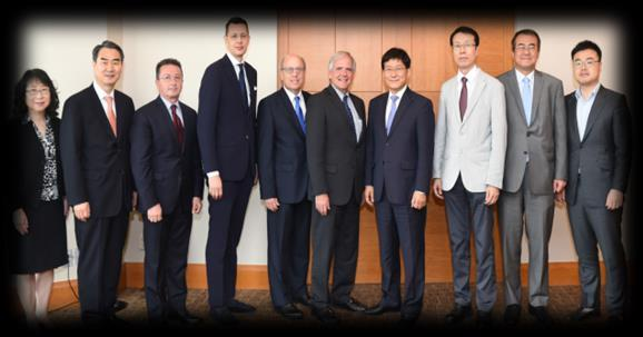 executives and Korean government officials to discuss the opportunities in the oil sector.