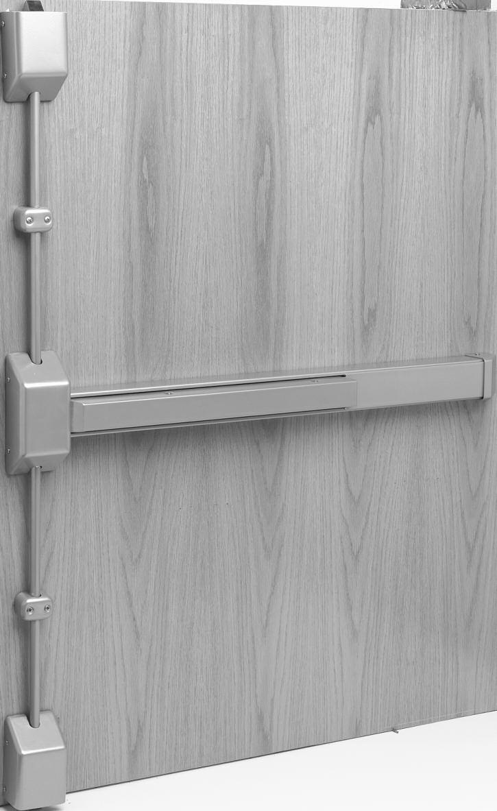 "3727 / NB3727 Vertical Rod Type Specifications For Doors 1-3/4"" (44mm) thick standard. 3-3/4"" (95mm) minimum stile width required for single door application."