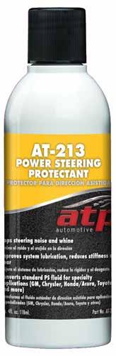 System Additives AT-213 Power Steering Protectant Specialty synthetic additive for power steering systems.