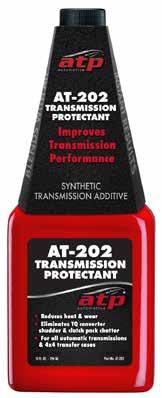 Improves efficiency and life of a transmission from daily drivers to severe duty applications such as commercial use, towing or high output applications.