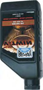 V-Twin Synthetic Motor Oil BEL-RAY MOTOR OIL Exclusive Bel-Ray anti-wear chemistry reduces bearing and valve train wear and and keeps pistons and rings from scuffing Features high polarity synthetic
