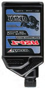 MOTORCYCLE OIL FOR 4-STROKE ENGINES T-4SR ynthetic Racing Oil 100% synthetic oil designed for highly stressed four stroke racing engines.