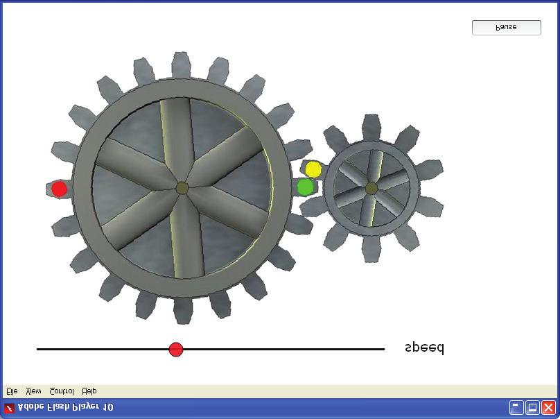 Appendix using the interactive Simple Gears and Transmission Interactive This resource is available to demonstrate the coupling of connected gears.