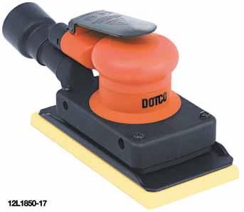 18 kw Lightest weight full size orbital sander in the world Full 10,000 OPM with more power and