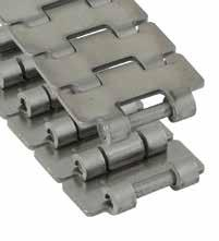 Straight Run Mini Hinge Pag. 61, 65 Metal TableTop Chains Straight Run Single Hinge Max-Line 1 Surface Flatness Polished Hinge Eyes mm inch kg/m mm N 60-Series 60 S 11* 762.50.11 31.8 1.25 1.07 0.