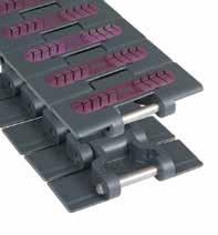 Straight Run Heavy Duty Supergrip Pag. 60, 70 Plastic TableTop Chains with RubberTop Magnetflex Heavy Duty Supergrip Plate Thickness mm inch kg/m N (21 C) mm mm PBT HDS 450 SG 780.31.42 114.3 4.50 1.