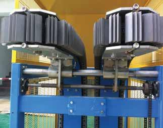 Rexnord has a wide variety of Plate Top and Gripper chains.
