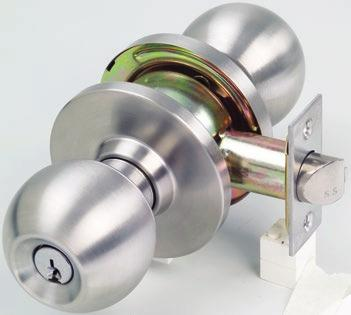 K Series Key in Knob and Key in Lever Locksets The K Series Locksets from Lockwood incorporate a cylindrical chassis design housing a PD type cylinder.