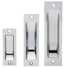Strike Plate from Key in Knob / Lever Set Flat Strike Rail Inactive Door Packing Box Foreplate & Spring Latchbolt Rebated