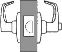 lever from either side except when both levers are