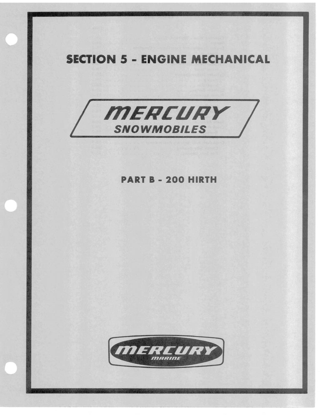 SECTION 5 - ENGINE MECHANICAL R1ENCUNY