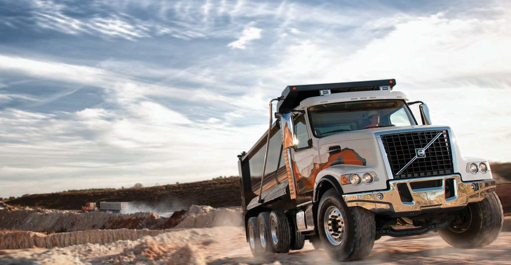 TRUCKS Improved profitability in North America and