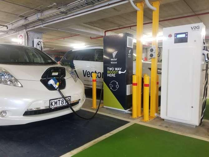 Initial V2G trials New Zealand s largest electricity distributor, Vector, has V2G trial underway in Auckland