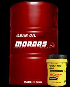 GEAR OILS: High Performance Multi-Purpose Extreme Pressure MORGAS Gear Oils Formulated for severe service conditions and environments in cars, trucks and heavy equipment.