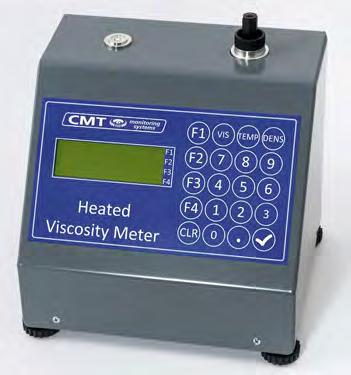 Measuring the oil viscosity provides an early detection of contamination, fuel ingress and shear thinning. Suitable for all mineral oils or fuels down to 1.
