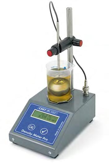 Paper OTR-CT-11000 Test Kit Cleaner Oil Condition Monitoring Density Meter The two CMT Density Meter are suitable for both distillate and residual fuel oils.
