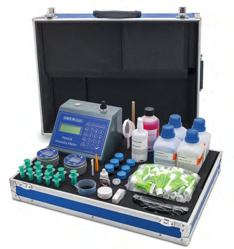 Electronic Multi Parameter Combinations Fuel and Lube Test Cabinet Configurations Part Number Electronic Water & BN Cell Heated Viscosity Meter Density Meter Dispersency Spot Test Electronic