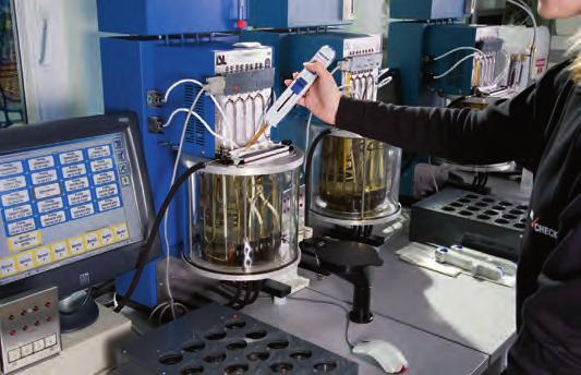 Cylinder Drain Oil Laboratory Oil Service Laboratory scrape down oil analysis from CMT provides comprehensive testing of the oil samples with a full set of data and a diagnostic statement from a