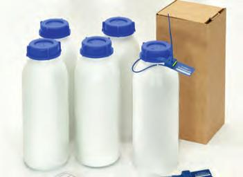 6. Sample Bottles and Cubitainer 1000 ml sample bottles CMT produce various different sample bottle for fuel, oils and water.