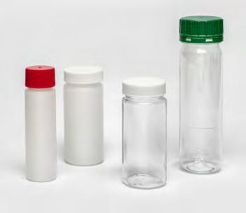 These hold the oil sample before mixing and transfer to the sample bottles and keep out all external contamination.