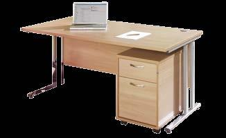 drawer ped SO-EBS18L SO-EBWH18L 1800 LH desk with 3 drawer ped SO-EBS18R SO-EBWH18R