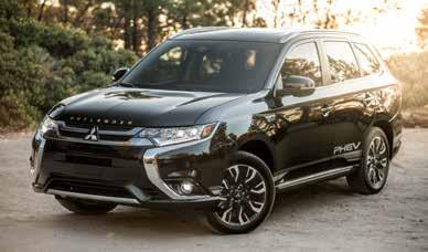 The Outlander PHEV model combines Mitsubishi s strengths in SUVs and electric efficiency.