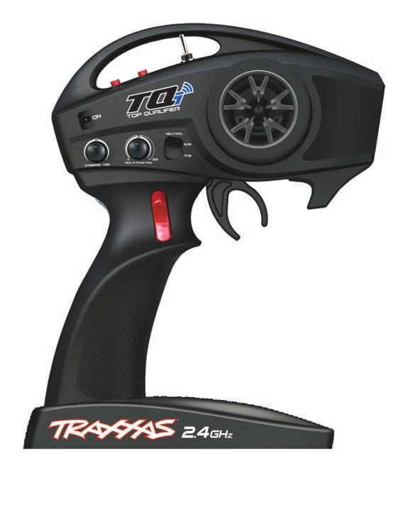 TRAXXAS TQi RADIO SYSTEM ET 2400 Motor Specifications Type: 1415 Sensorless brushless RPM/volt (kv): 2400 Magnet type: Ultra High-Temperature Sintered Neodymium Connection type: 3.