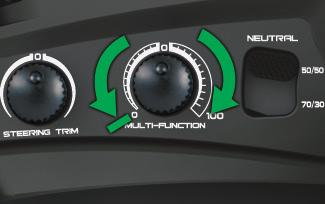 TQi ADVANCED TUNING GUIDE Your Traxxas transmitter has a programmable Multi-Function knob that can be set to control various advanced transmitter functions (set to Torque Control by default, see page