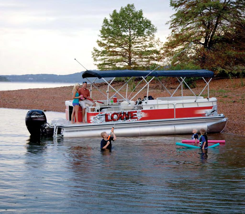 SS 250 Super Sport Family Pontoons Boats shown may include