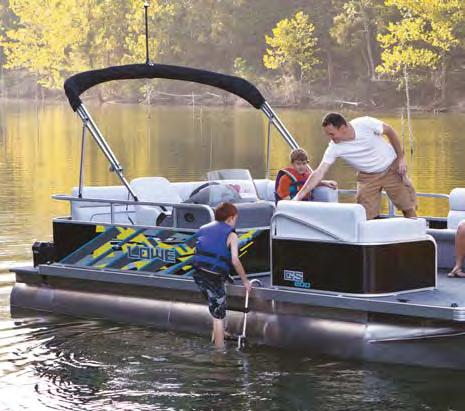 "Beam GS 202 17'11"" GS 200 17'11"" Pontoon"