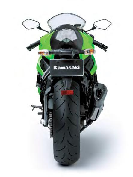 revised and mass further centralised to make the new Ninja ZX-6R even easier to tip into corners.