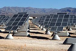 2 W/m 2 Concentrated Solar Power (CSP) plant World s largest solar energy plant 354 MW capacity with 21% capacity factor