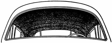 (Group 14) Headlinings Headliner Trim Kits Our Trim Kits come complete with the proper amount of windlace, wire-on, and instructions. (extra wire-on may be needed on some 1935-1949 cars.