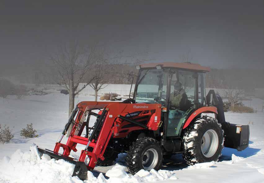 ECONOMY - 2500 Series Economical and easy to operate 4WD, Tier IV mcrd-powered, tractors designed for general purpose farming and agriculture, livestock operations and grounds maintenance.
