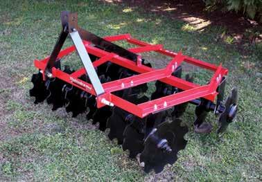 AVAILABLE IMPLEMENTS Mahindra offers