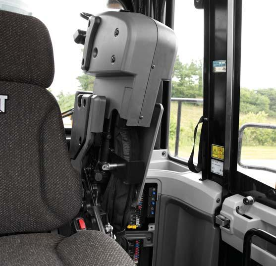 Your operators can work more efficiently and stay comfortable with our customer-inspired cab features.