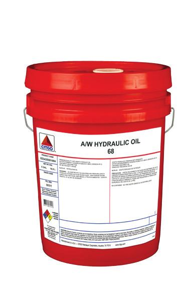 Conventional HyDurance AW Super NZ Fluid is a high efficiency, wide temperature use range hydraulic fluid.