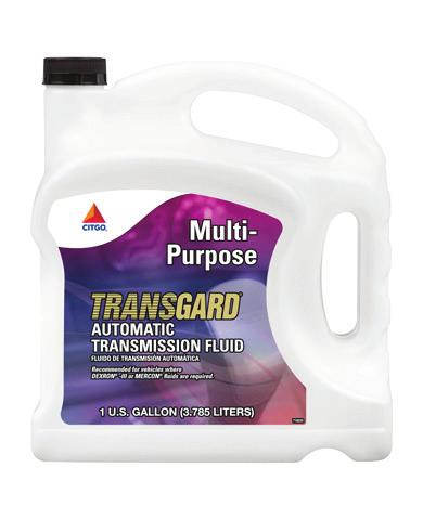 Conventional TRANSGARD Multi-Purpose ATF is a premium ATF that offers superior cold-temperature performance characteristics, excellent wear protection and superior frictional characteristics.
