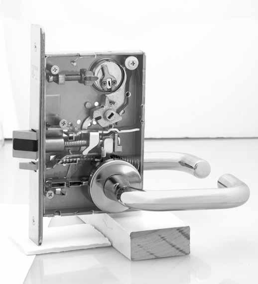 Features The patented* SARGENT Mortise Locks are designed and constructed with high quality components to provide maximum security, performance and durability.