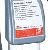 Automatic transmission fluid for Asian vehicles (red) febi no.