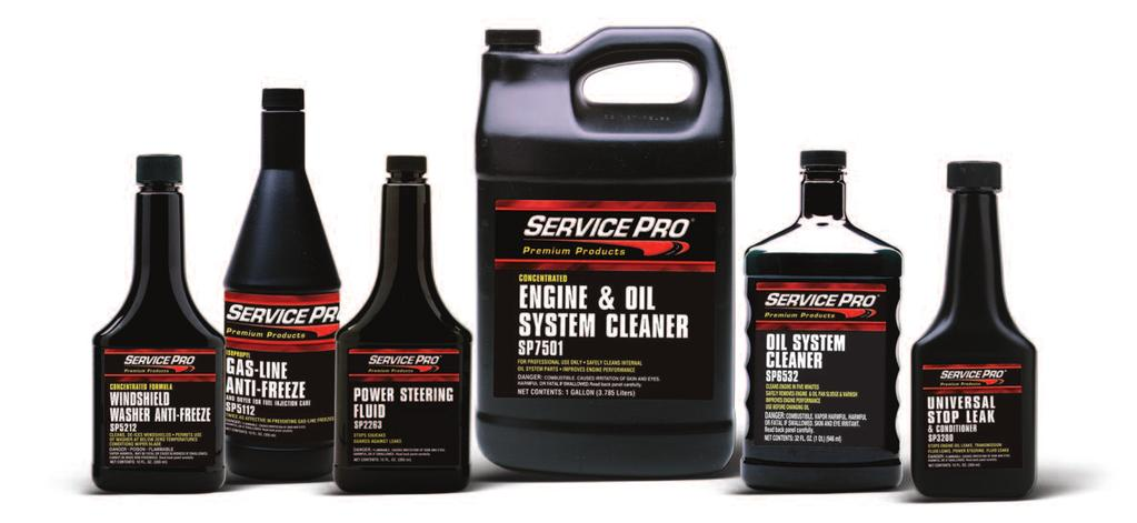 SERVICE PRODUCTS POWER STEERING FLUID Meets the service requirements of most GM, Ford, Chrysler, and foreign auto manufacturers. Please reference http://www.service-pro.com/psfbulletin.
