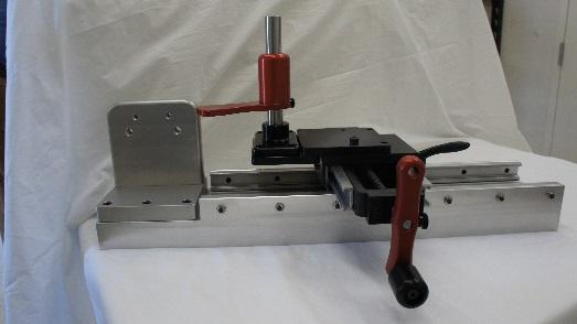 3: Attach transducer to angle bracket on main carriage.