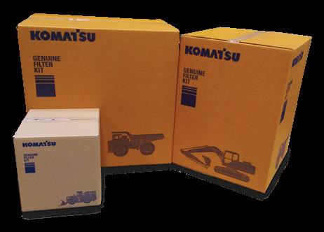 250hr service kit 500hr service kit 1000hr service kit 2000hr service kit Fuel Filters Keep your fuel clean and your engine performing Komatsu fuel filters are essential for ensuring clean and